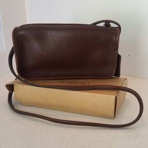 """Vintage Mahogony Leather """"Basic Bag"""""""